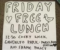 Friday Free Lunch