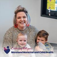 Celebrating 100 years Moreland Maternal Child and Health