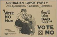 The 1916 - 17 anti-conscription vote
