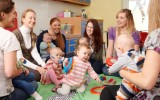Landing image community and care new parent groups