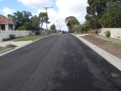 Beckley St construction complete