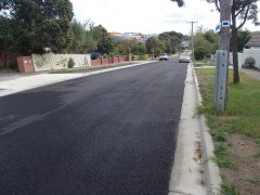 Beckley St construction completed
