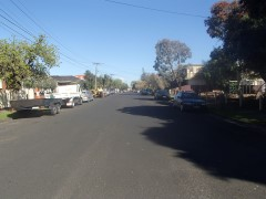 Campbell Street - Before Road Reconstruction Works