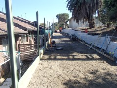 Craigieburn Shared Path Construction, Oak Park - During Construction 2
