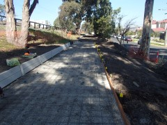 Craigieburn Shared Path Construction, Oak Park - During Construction