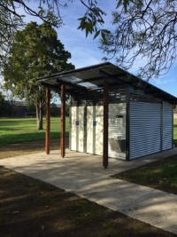 Campbell Reserve public toilets finished