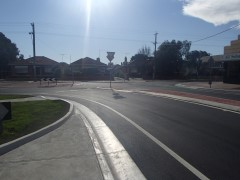 O'HeaTurner & Derby Streets, Pascoe Vale Roundabout modification works Construction Works Complete
