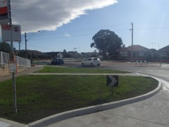 O'HeaTurner & Derby Streets, Pascoe Vale Roundabout modification works Construction Works Completed