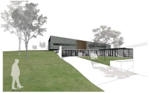 Artist's impression Pascoe Vale Community Facility