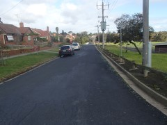 Whitton Parade Before Road Reconstruction