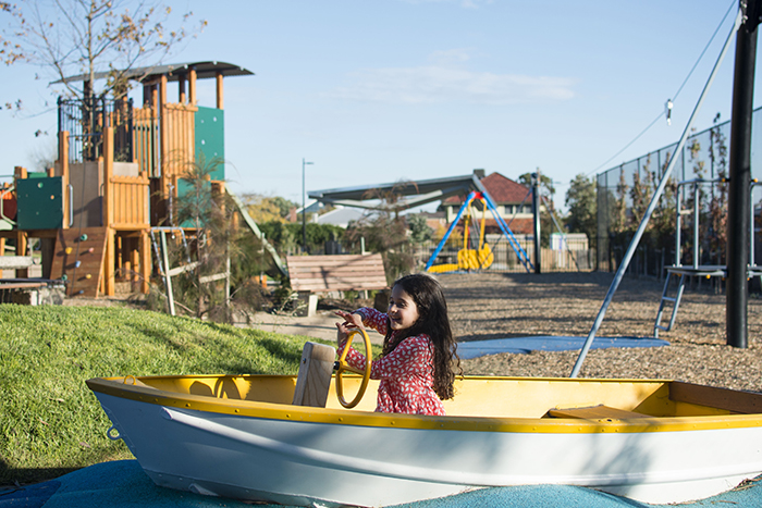 Bush Reserve now features a fantastic children's playground