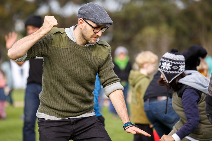 Wurundjeri Traditional Games Day. Photo: James Henry