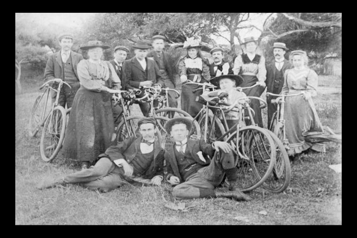 Methodist Road bicycle club 1897