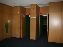 Coburg Library Meeting Room foyer area